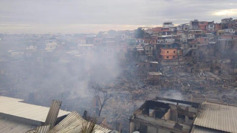 incendio no Educando Manaus 17.12.2018