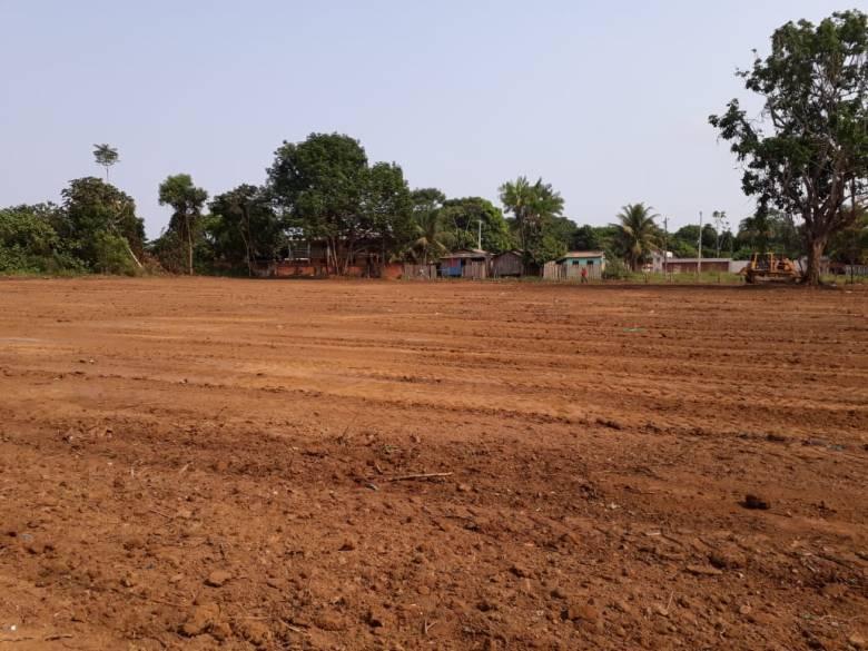Area novo Cemitério Maués 2